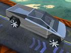 Cyber Truck Race Climb ist nicht nur ein Lkw Fahren, sondern auch ein Stunt Ren