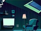 Dachzimmer Nachtflucht ist ein brandneues Point & Click-Escape-Spiel, das v
