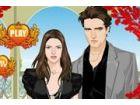 Kristen Stewart und Robert Pattinson werden eine Dämmerung-Party, verkleiden s