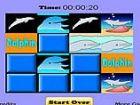 Delphin Match Spiel - eine übereinstimmende Sp...