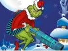 Helfen Sie dem Grinch stehlen alle Geschenke von Santa durch Erschießen mit se