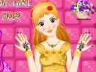 Diese junge Schönheit liebt Diamanten sehr viel, und dafür hat sie viele toll
