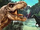 Im Wald musst du kleine Dinos oder andere Tiere jagen und sie zu deiner Beute m