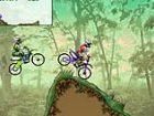 Dirt Bike Meisterschaft - Rennen gegen den Computer Biker als Sie Gleichgewicht