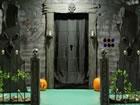 Ein Fluchtspiel, das Sie in ein DIY Halloween Haus führt. Das Spiel ist vo