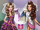 Es gibt eine spezielle Landebahnshow mit zwei deiner Lieblingspuppen, Tris und