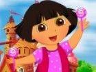 Dora the Explorer ist hier in diesem neuen Kleid-up-Spiel und sie  wird s