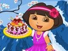 Das ist schöner Tag für Sie, mit königlichen Kuchen zu genie&szl