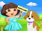 Adorable Puppy Pflege ist immer für immer Kinder, auch die geben Seelenfri