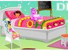 Unser schönes Dora will ihr Schlafzimmer neu zu gestalten, wie sie mit der