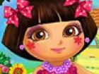 We have prepeared a cool Dora real makeover game for you. You can make facial m