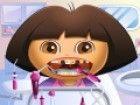 Dora the Explorer hat ein paar Leckereien in Candyland und nun ihre Zahnschmerz