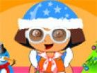 Hallo Kids, Feiern dieses Weihnachten mit Ihrem Lieblings-  Dora. Sie wil