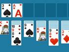 Spielen Sie Klondike Solitaire mit doppelt so vielen Karten. Double Klondike So