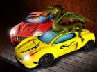 Tauchen Sie ein in die Welt der Drachen und Drachen inspirierten Autotuning und