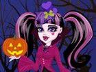 Spielen Draculaura Halloween-Kostümen und verkleiden sich monster high kühle