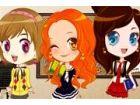 Emma, Nina und Yoyo haben begonnen, tolle Zeit zusammen haben! Heute ist es ihr