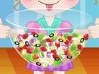 Salat ist immer eine Erfrischung und gesundes Gericht. Es ist eine perfekte Wah