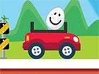 Eggy Car ist ein Bergsteigerspiel mit einem Ei darüber. Es gibt nur eine w