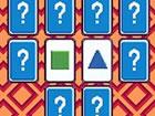 Klicke auf zwei Karten mit demselben Symbol, um eine Übereinstimmung zu er