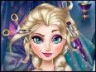 Elsa, Gefrier tapfere Prinzessin, die ein Eis-Königin wurde, muss von ihrer ko