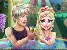 Elsa braucht deine Hilfe für eine romantische Nacht mit Jack Frost im Jacuzzi