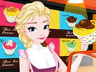 Queen Elsa ist wieder in der Geschäftswelt. Inspiriert von ihrer letzten Reise