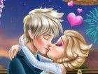 Jack hat Elsa mit einem romantischen Candleligh...