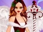Dress up Emily Browning für Weihnachten mit di...