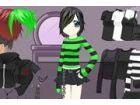 Helfen Sie diese Emo entscheiden, was zu tragen! Sie braucht deine Hilfe, die e