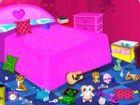 Dieses emo Mädchen liebt Aufnehmen niedlichen Spielzeug und Stofftieren in ihr