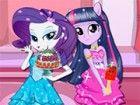 Equestria Mädchen hält ein Cookie zu speichern und jeden Tag, bereiten die k�