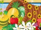 Schmücken Thanksgiving-Füllhorn der Ernte-Korb. Sie können jede Farbe, die S