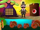 Erntedankfest Zeit 3ist ein weiteres Point-and-Click-Escape-Spiel, das vo