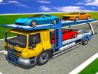 Fahren Sie Lastwagen auf stark befahrenen Straßen in LKW-Fahrsimulator sp