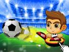 Vierundzwanzig beste Fußballnationalmannschaften in Europa kämpfen u