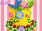 Hallo! Wie wäre es mit einer cremigen und leckeren Kuchen Blume mit attraktive
