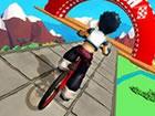 Fahrrad Stunts 3D ist ein unterhaltsames Fahrradfahrspiel, bei dem Sie Fahrrad
