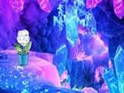 In diesem Fantasie Kristall Cluster Fluchtsp...