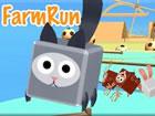 Farmrun! Spiele als süßes Nutztier in einem Wettlauf um die Flucht!