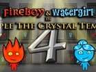Feuer und Wasser 4 : Der Kristalltempel ist der vierte Teil der Abenteuer junge