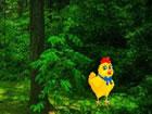 In diesem Fluchtspiel ist Schokoladenhase im Osterwald gefangen. Niemand ist da