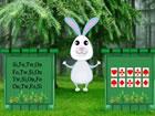 In diesem Fluchtspiel hat ein Hase die Karotte aus diesem Wald verpasst. Keiner