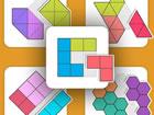Kombiniere und kombiniere Formen in diesem coolen Puzzlespiel! Verwenden Sie di