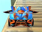 Fly Car Stunt ist ein Spiel, bei dem Sie ein Spielzeugauto auf einer schwebende