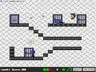 Flucht aus dem Gefängnis einen Korridor zu einem Zeitpunkt. In jedem Level mü