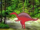 In diesem Fluchtspiel bist du im roten Dinow...