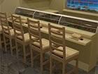 In einem Sushi-Restaurant eingeschlossen, versuchen Sie, einen Ausweg zu finden