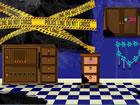 Flucht aus dem Tatort ist ein Point and Click Spiel. Stellen Sie sich vor, Sie