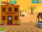 Flucht Cowboy Haus ist ein spannendes Point-and-Click-Haus-Flucht-Spiel, das vo